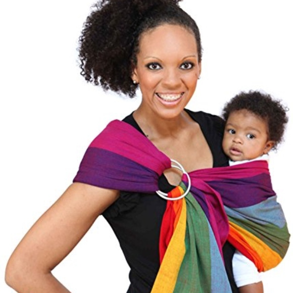 fca9e053d81 Maya wrap other lightly padded ring sling baby carrier poshmark jpg 580x580 Maya  wrap